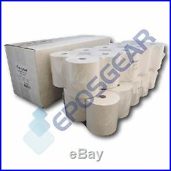 100 80mm x 80mm 74gsm Thermal Paper Cash Register Till Printer Receipt Rolls