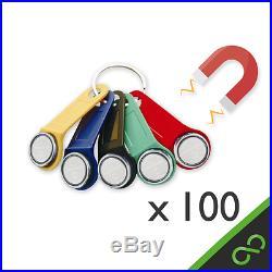 100x GENUINE magnetic iButton Dallas Key fobs for tills/EPOS/Cash registers