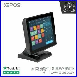 12 -17 Touchscreen EPOS POS Cash Register Till System for Pubs and Bars