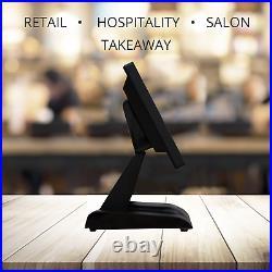 12 POS Touchscreen Cash Register EPOS Till System Takeaways Hospitality Bar Pub