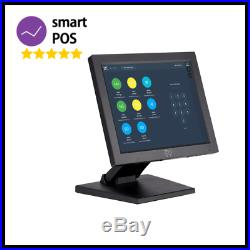 12 Touchscreen EPOS POS System for Retail Shop Cash Register Till One Payment
