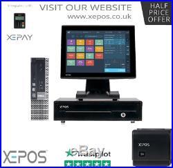 12 Touchscreen EPOS System Cash Register Till System for Restaurant / Retall