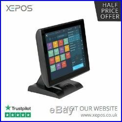 12 Touchscreen POS EPOS Cash Register Till System for Retail / Restaurant /Pubs