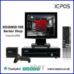 12 Touchscreen POS EPOS System Cash Register Till System For Barbershop