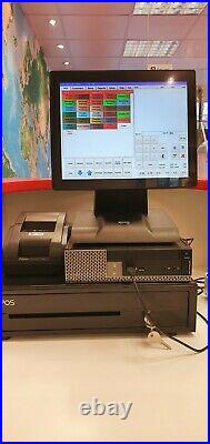 12 Touchscreen Xepos System for Pub and Bar POS Cash Register Till