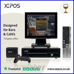 12in Hospitality EPOS System for Cash Register Till For Cafe's & Bars