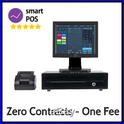 12in Hospitality EPOS System for Cash Register Till One Payment, No Contracts