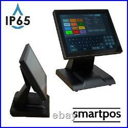 12in POS Touchscreen EPOS Cash Register Till System Burger Sandwich Hospitality