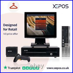 12in Retail EPOS System for Cash Register Till For ALL Retail Business