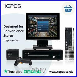12in Retail EPOS System for Cash Register Till For Convenience Stores