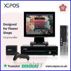 12in Retail EPOS System for Cash Register Till For Flower Shops