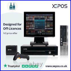 12in Retail EPOS System for Cash Register Till For Off-Licenses