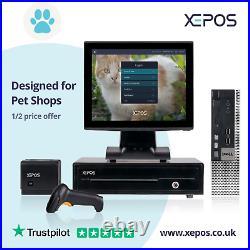 12in Retail EPOS System for Cash Register Till For Pet Shops