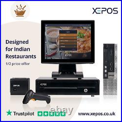 12in Takeaway EPOS System for Cash Register Till For Indian Restaurants