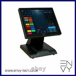 12in Touchscreen EPOS Cash Register Till System For Hospitality Takeaways Retail