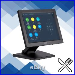 12in Touchscreen EPOS POS Cash Register Till System Fast Food Takeaway Delivery