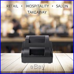 12in Touchscreen EPOS POS Cash Register Till System Restaurant Cafe Bar Deli