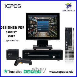 12in Touchscreen EPOS System for Cash Register Till For Grocery/Department Store