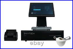 12in Touchscreen POS EPOS Cash Register Till System For Salon and Barber Shops