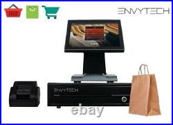 12in Touchscreen POS EPOS Cash register Till System For Convenience Store Retail
