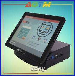 15 Touchscreen EPOS POS Cash Register Till System Hospitality / Takeaway