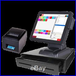 15 Touchscreen EPOS POS Cash Register Till System for Takeaway Businesses
