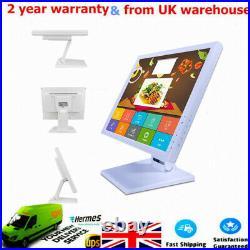 17'' Touch Screen Monitor VOD POS Cash Register Till System Retail/Restaurant UK