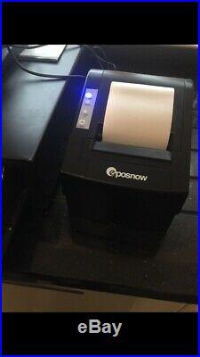 17 Touchscreen EPOS POS Cash Register Till System X2