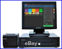 17 Touchscreen EPOS POS Cash Register Till System for Fish and Chip Shops
