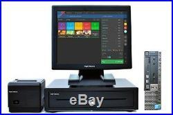 17 Touchscreen EPOS POS Cash Register Till System for Pizza Shops