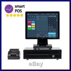 17 Touchscreen EPOS POS System for Retail Shop Cash Register Till System Store