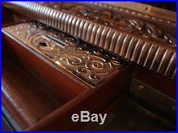 1901 Antique Brass National Cash Register / Renaissance Pattern / NCR / Till