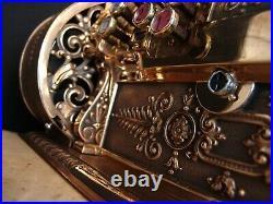 1912 Antique Double Drawer Crank National Cash Register / NCR / Till / Titanic