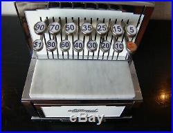 1935 Art Deco Candy Store / Barber Shop National Cash Register NCR Vintage Till