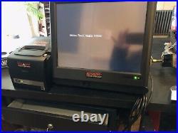 2x sharp cash register tills And Printers