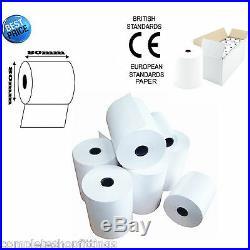 80mm x 80mm 80x80mm Thermal Paper Cash Register Till Printer Receipt Rolls
