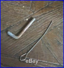 Antique Brass Copper National Cash Register Till Model # 35 Working