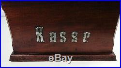 Antique Cash Register Till, Wooden C. 1900, German, Period Shop Fitting