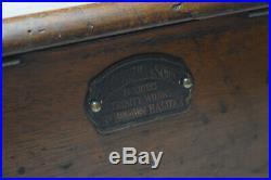 Antique Mahogany Cash Register / Till G. H. Gledhill & Sons Halifax c. 1900
