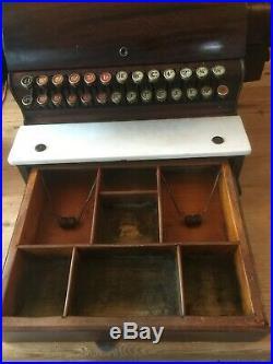Antique National Cash Register Co Till