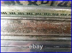 Antique National Cash Register Company Till for restoration project