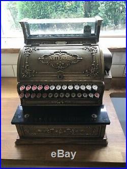 Antique National Cash Register Till
