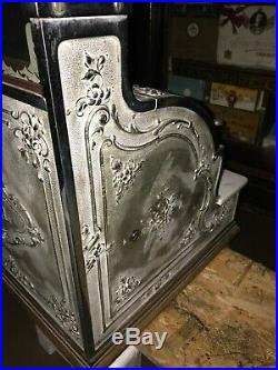 Antique National Cash Register Till Nickelplated VGC collect from Nott or Luton