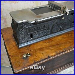 Antique Shop Till Lamson Paragon Cash Register Wooden 1930's