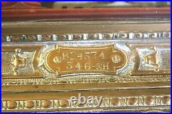 Antique Victorian national brass till cash register cafe tearoom pub working