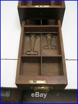 Antique Vintage G H Glenhill Cash Register Wooden Till Drawer