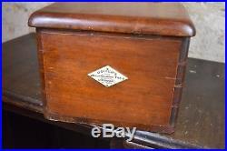 Antique Vintage O'brien Liverpool Cash Register Wooden Till Drawer prop