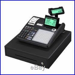 BRAND NEW CASIO Cash Register Till SEC3500 SEC 3500 Free Batteries Programmed