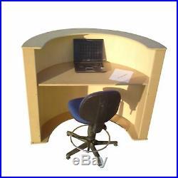 Beauty Salon Reception Desk Cash Register Till Counter KernowCarpentry RD2