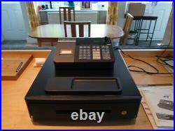 Black Casio Cash Register Shop Till Pub Bar Restaurant Cafe